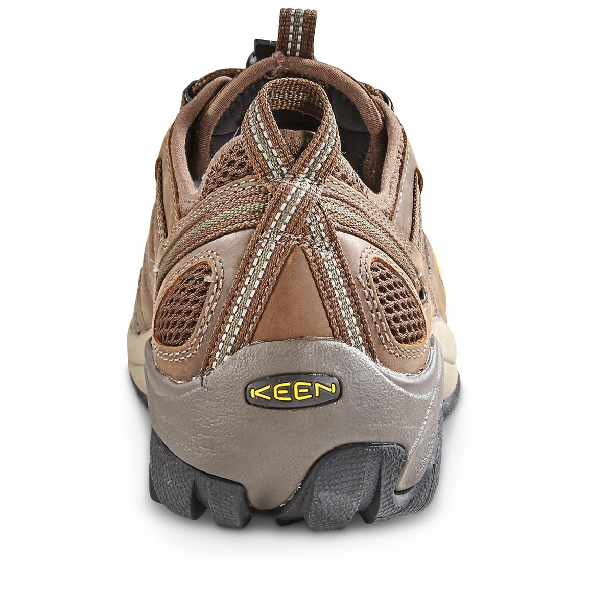 Electro static dissipative ESD footwear is constructed to reduce excess static electricity
