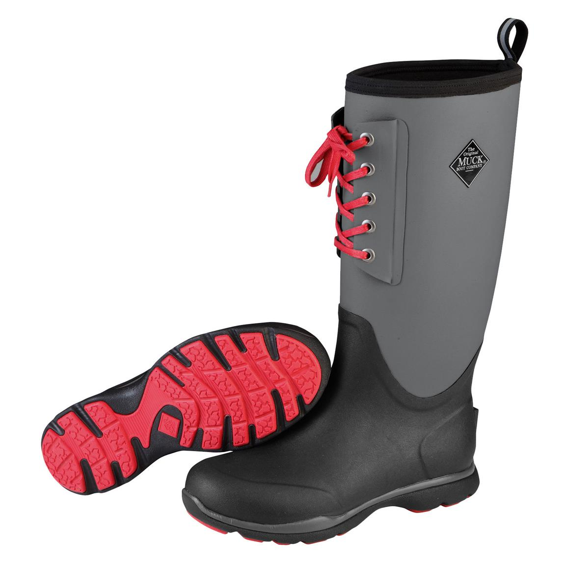 Muck Arctic Excursion Lace Tall Waterproof Insulated