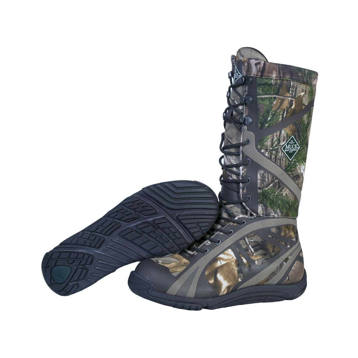 Muck Pursuit Shadow Tall Waterproof Hunting Boots Camo