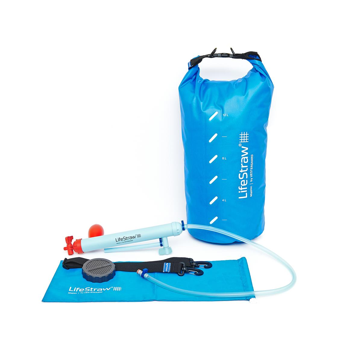 LifeStraw Mission Gravity-Fed Water Purifier, 12-liter