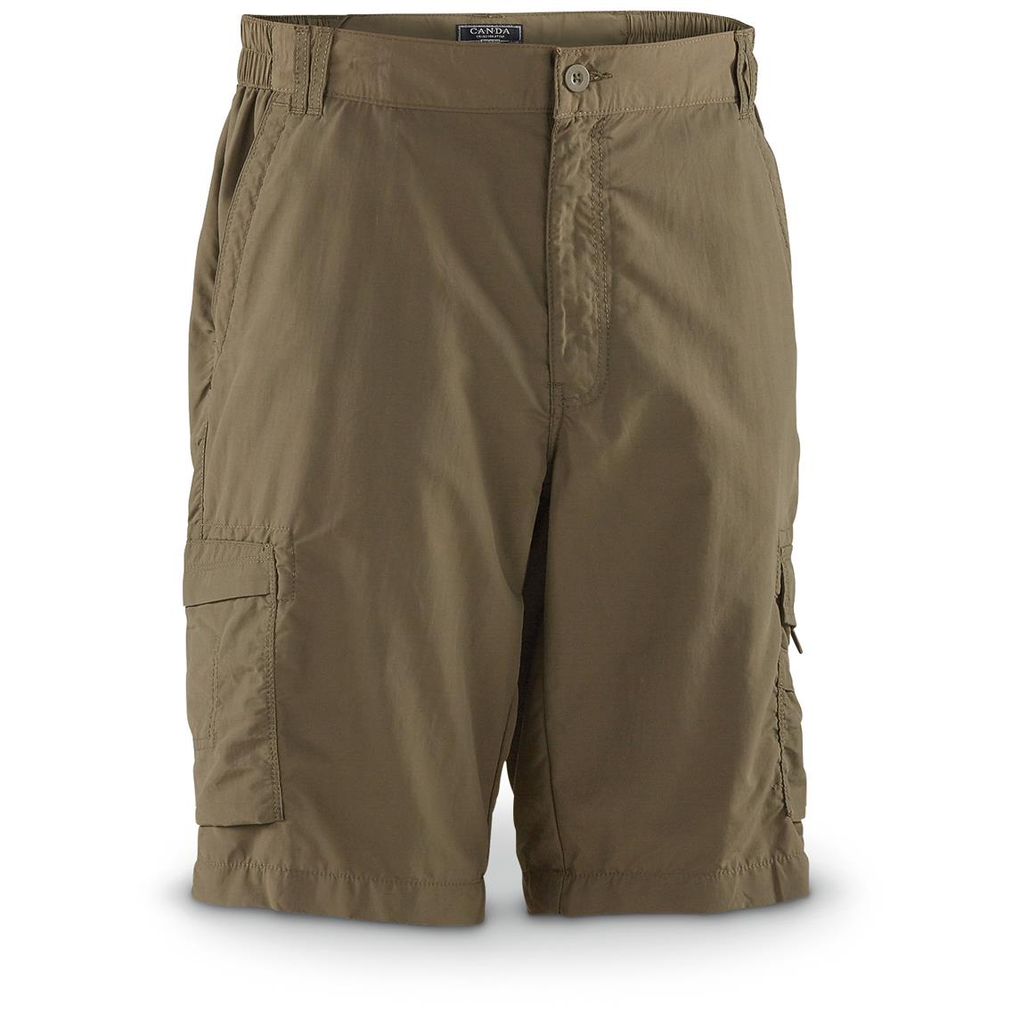 Men's German Military Surplus Cargo Shorts, New
