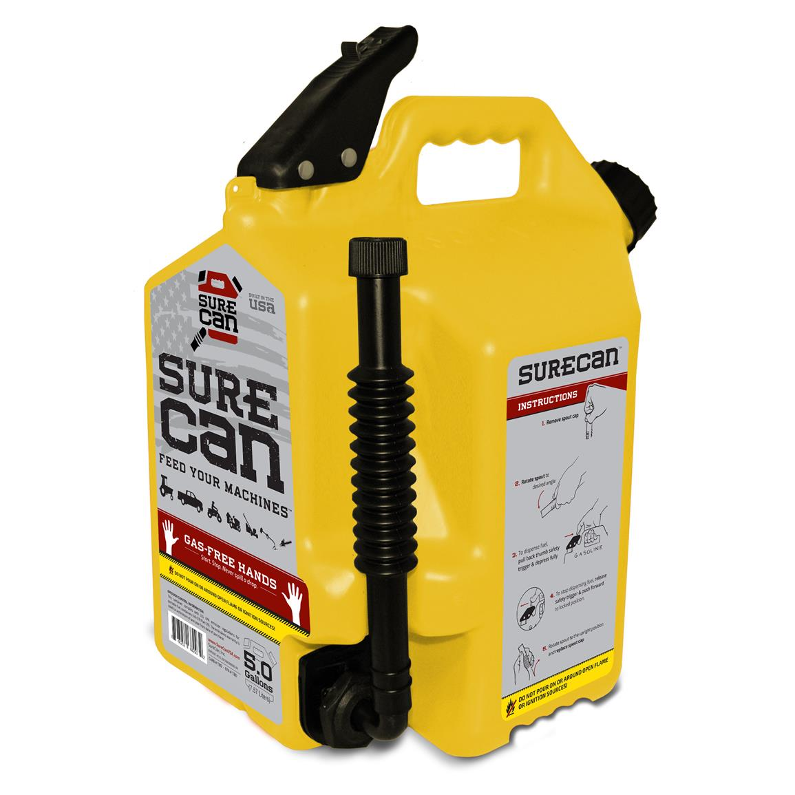 Surecan 5 Gallon Diesel Fuel Can