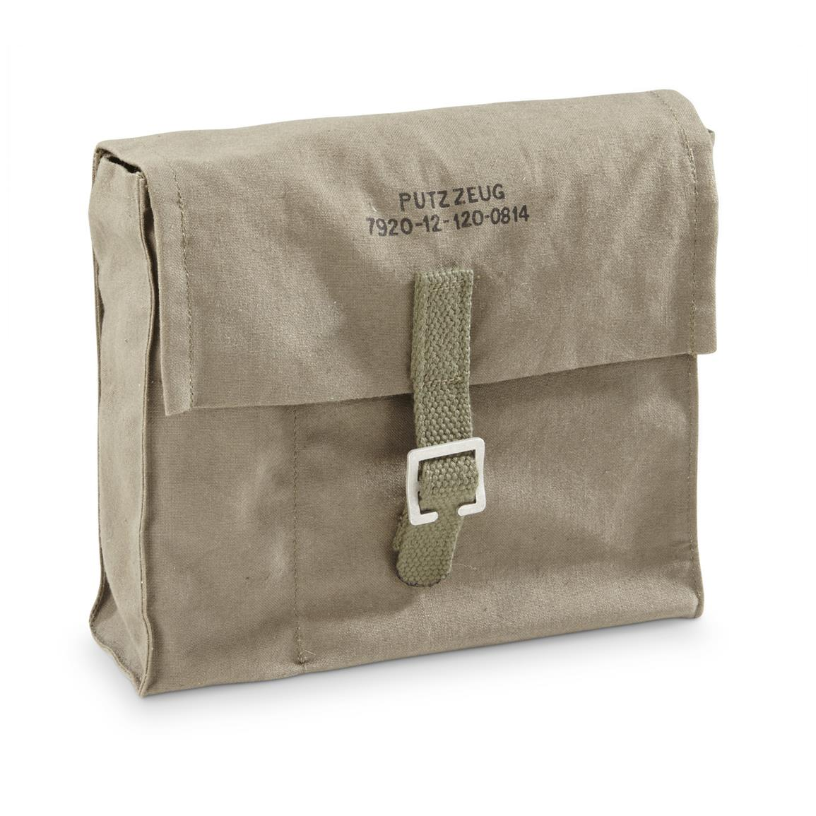 "Packs into included 7"" x 7"" x 2"" canvas bag with buckle flap"
