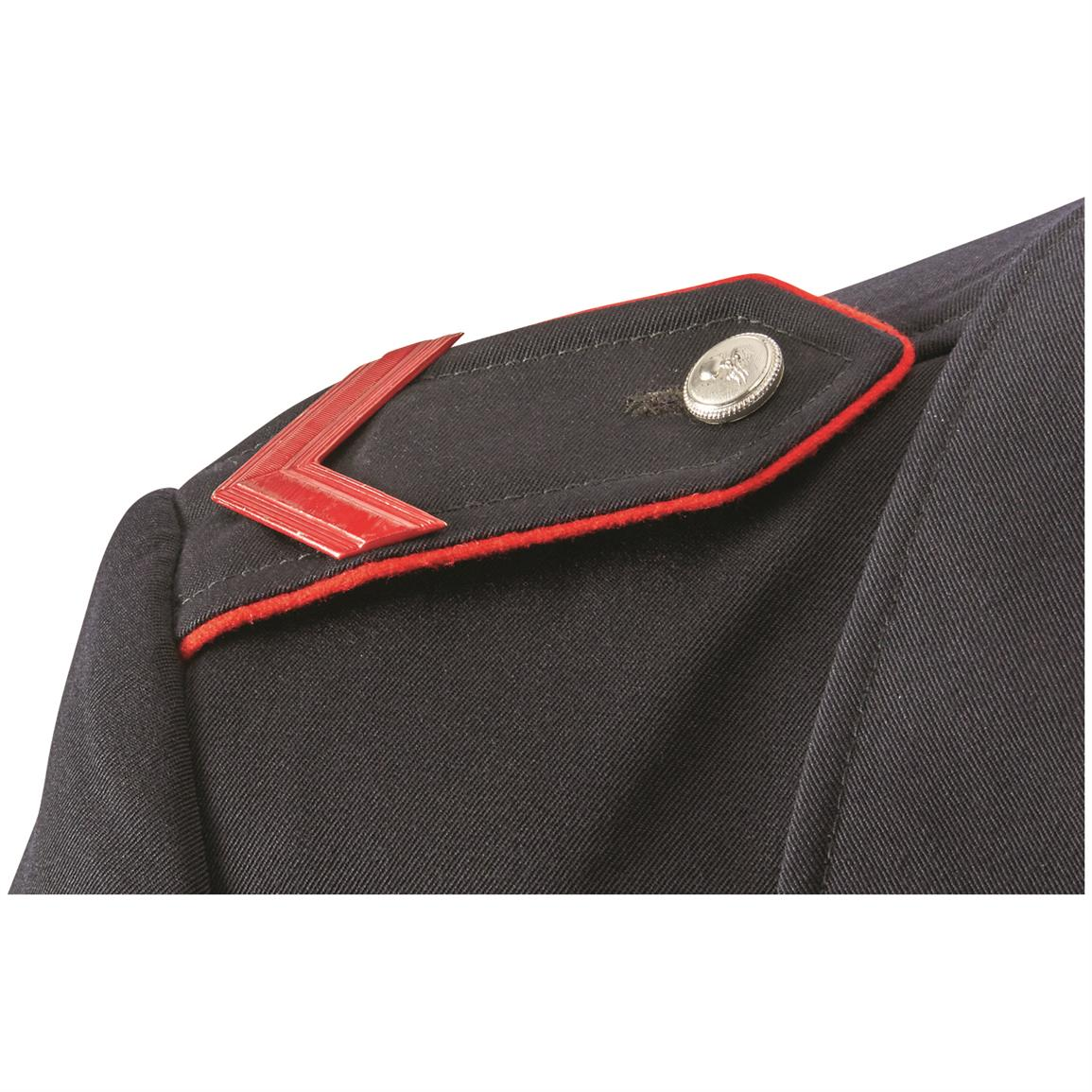 Button epaulets