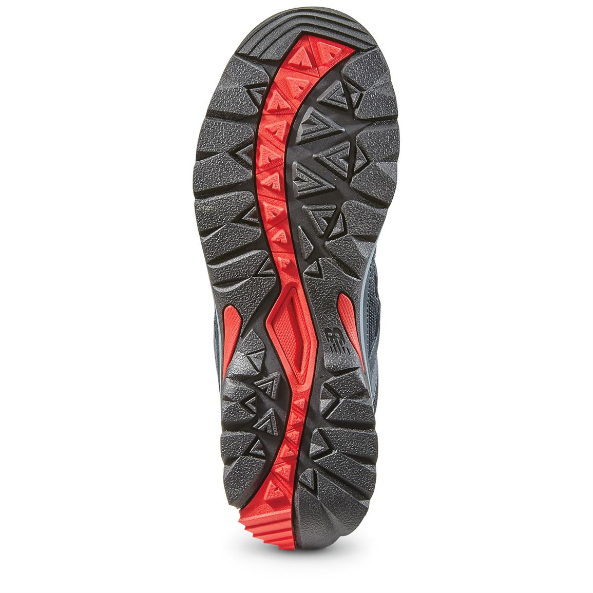 "Lugged rubber outsole that keeps you an ""upright citizen"" on tricky terrain"