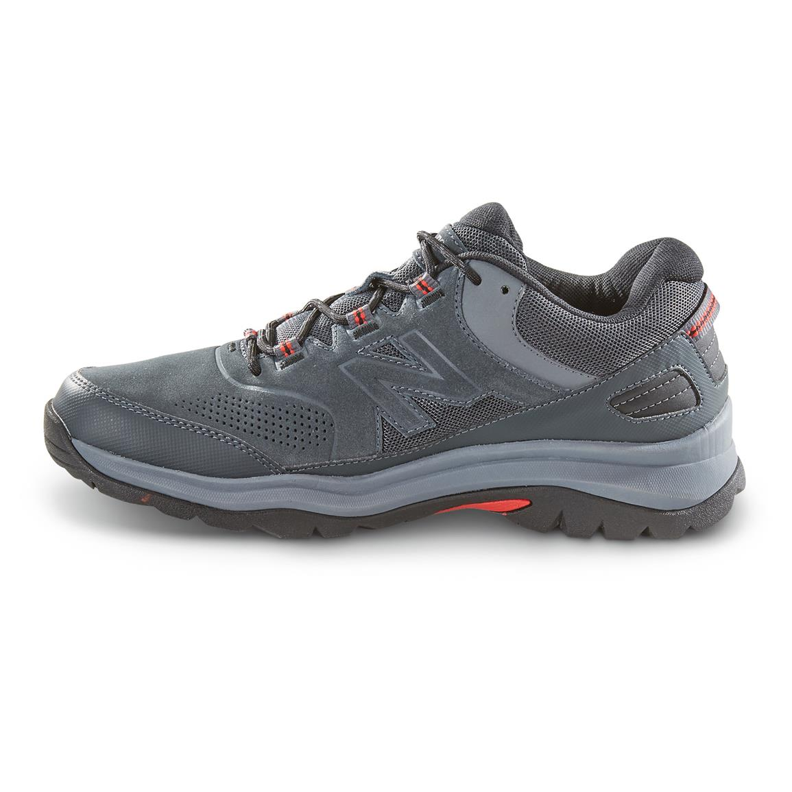 "Features a lugged rubber outsole that keeps you an ""upright citizen"" on tricky terrain,"