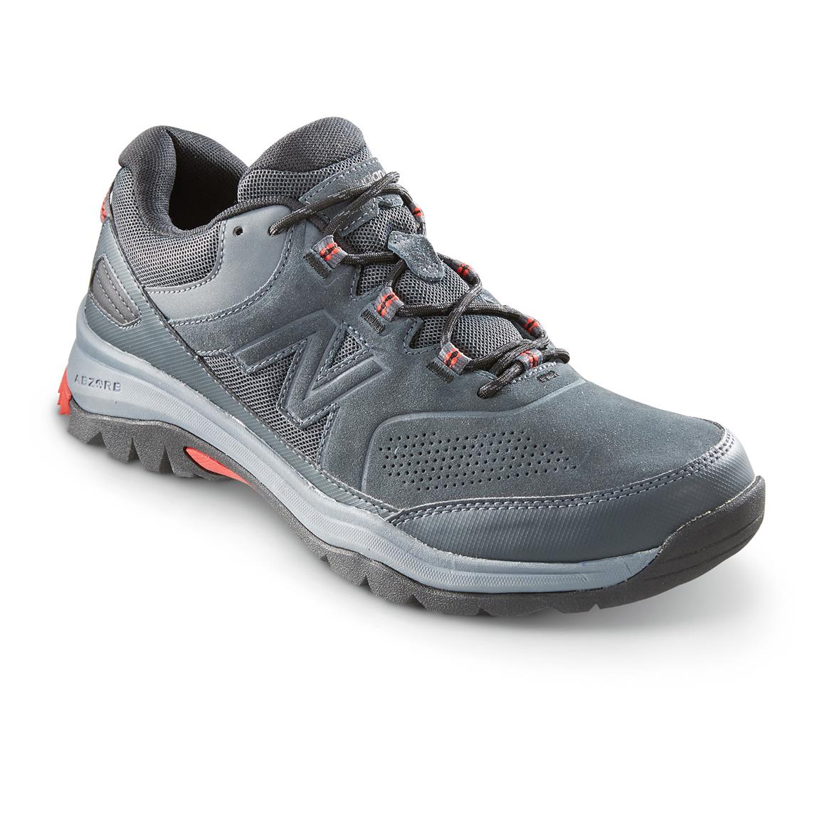 New Balance 769 Country Walker Shoes, Gray / Red