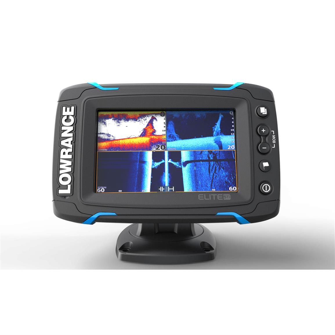 Lowrance Elite-5 Ti Touchscreen Fish Finder with TotalScan Transducer