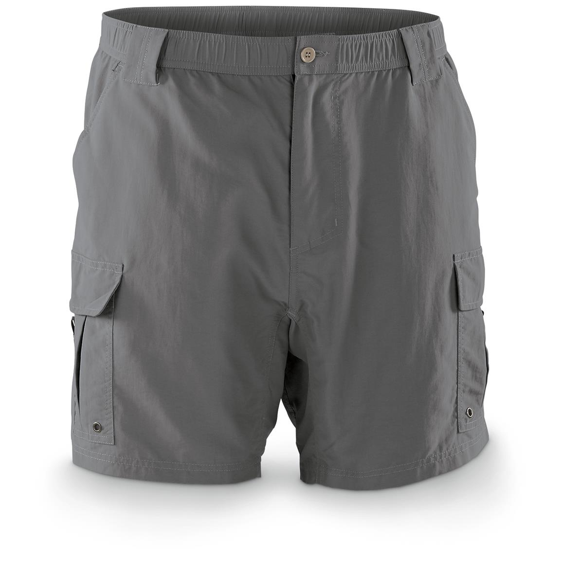 Guide Gear Men's Performance Fishing Cargo Shorts, Grill