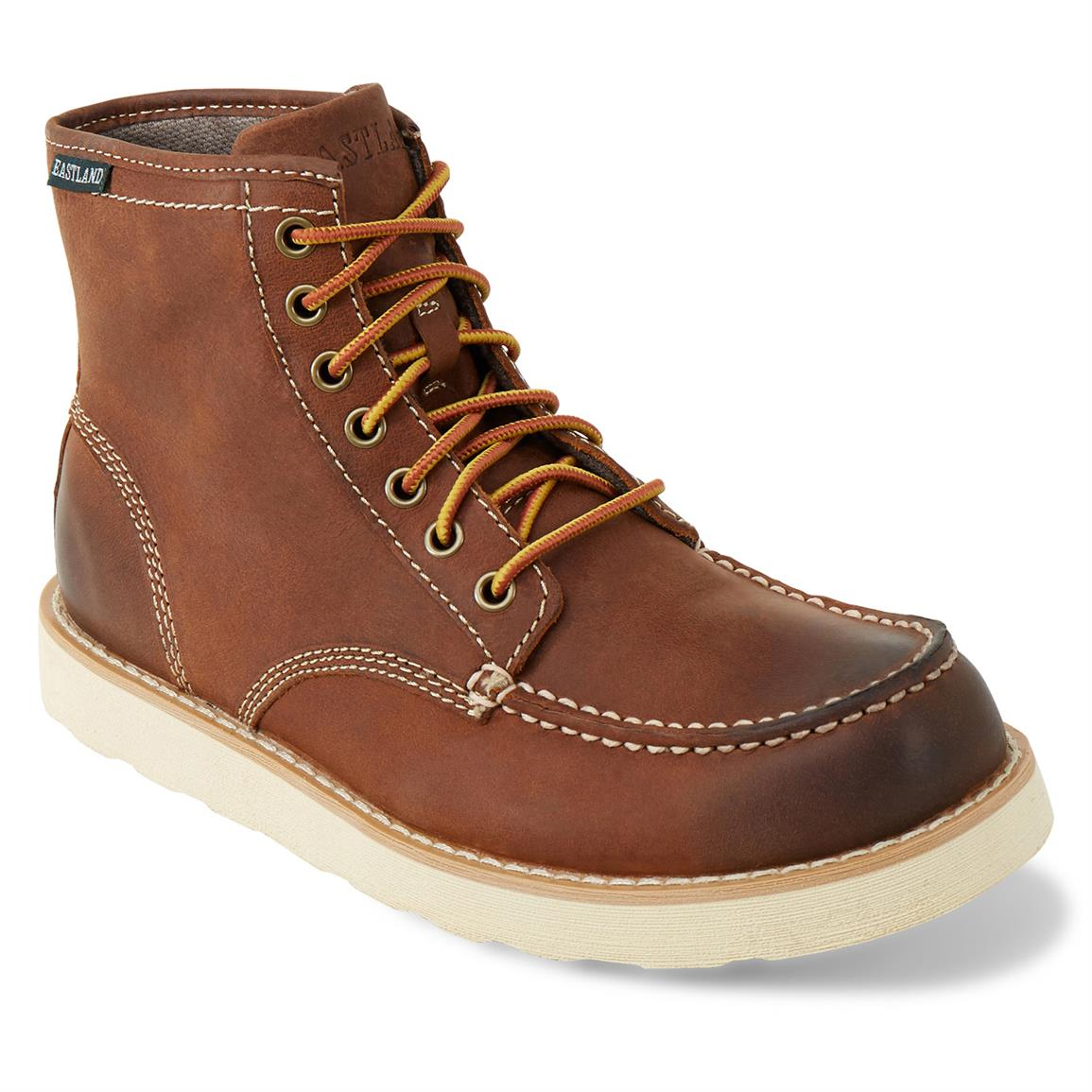 Eastland Lumber Up Casual Boots, Peanut