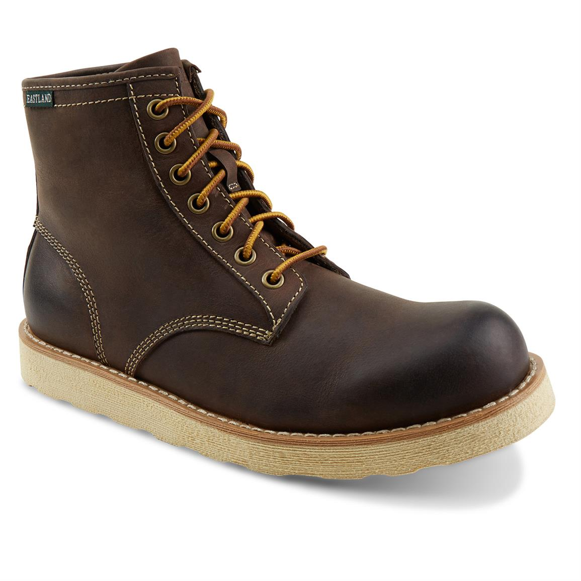 Eastland Barron Boots, Dark Brown