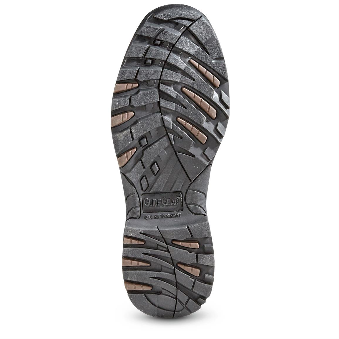 Rugged traction rubber outsole