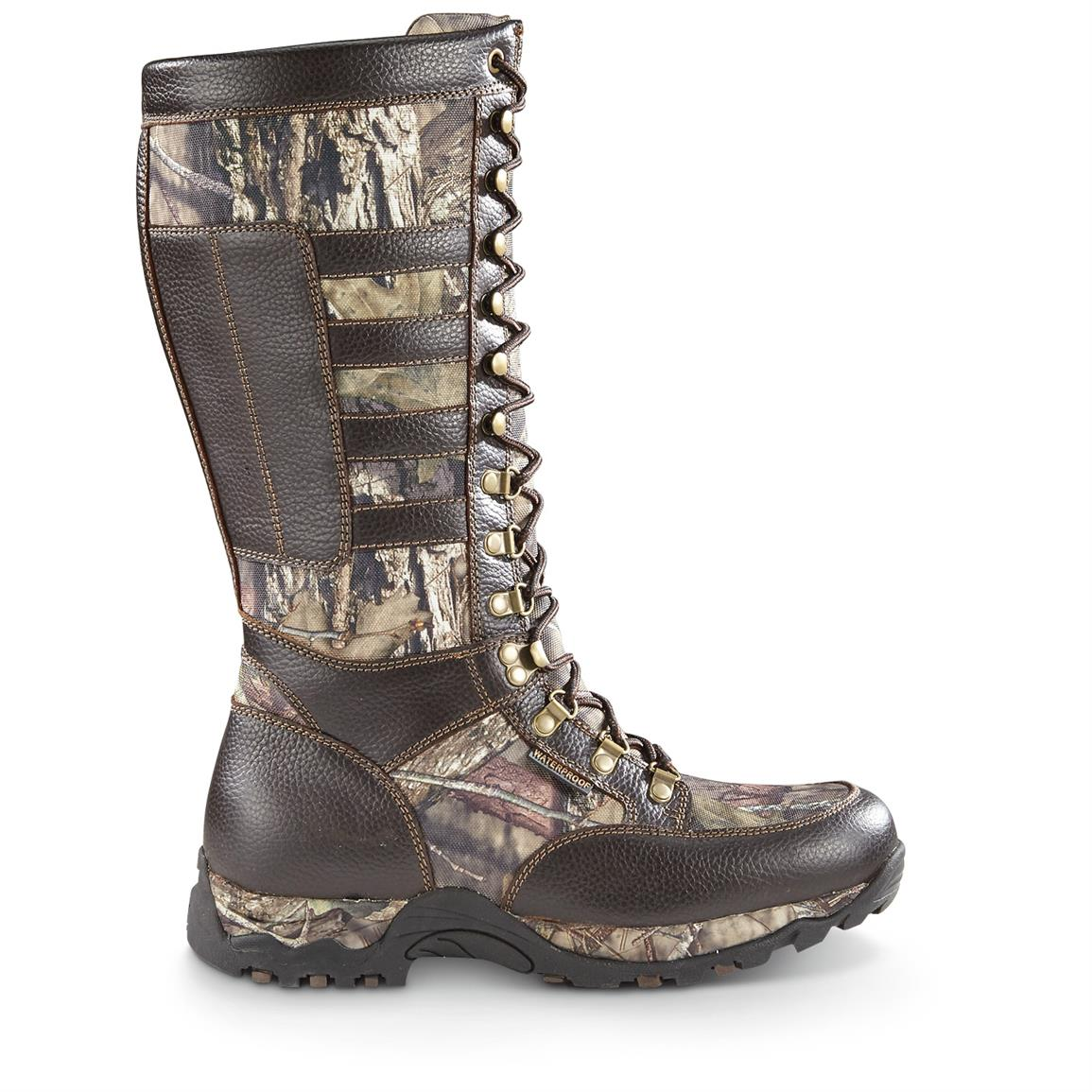 Ariat Men's Conquest H2O Snake Boots, Side Zip, Waterproof ...