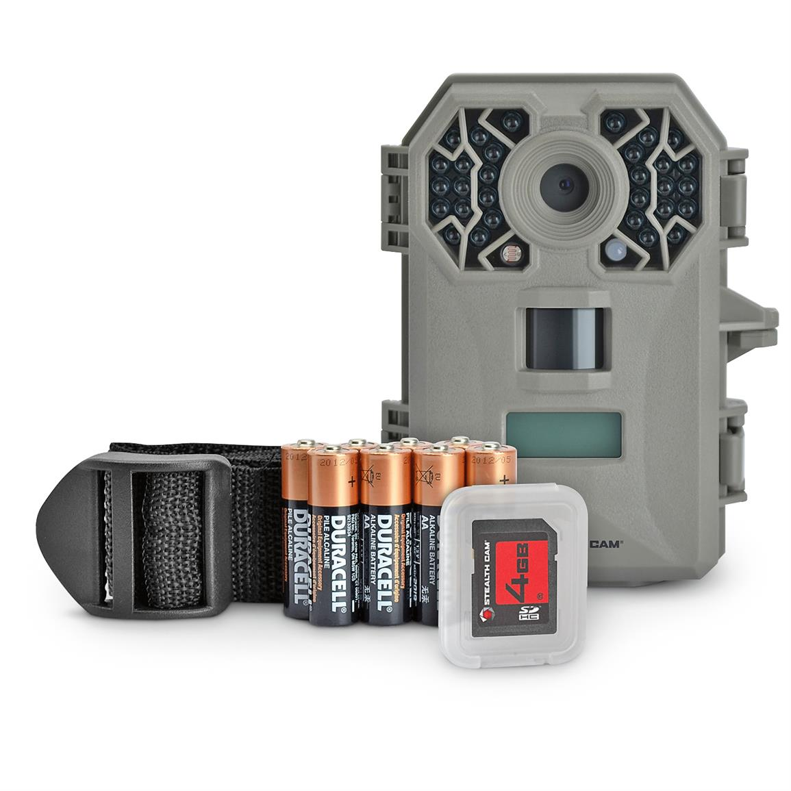 Stealth Cam G30 No-Glo Trail Camera Kit