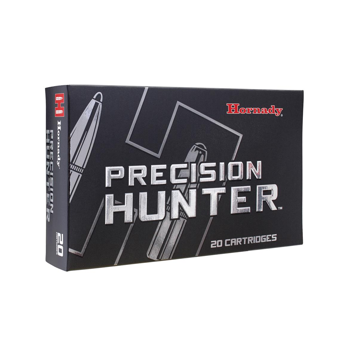 Hornady Precision Hunter, .308 Winchester, ELD-X, 178 Grain, 20 Rounds