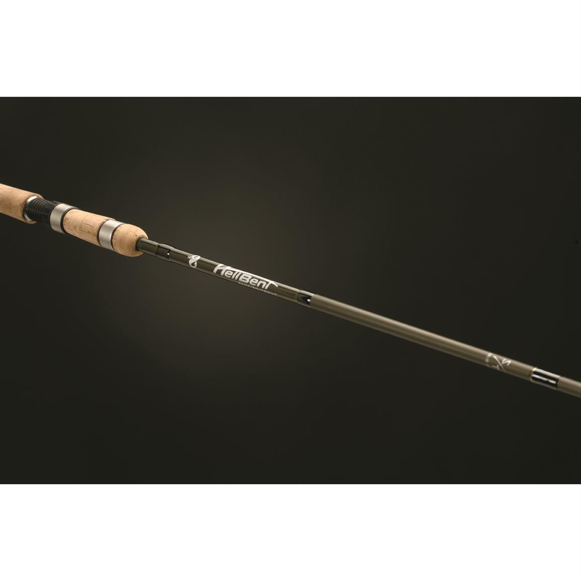 No 8 hellbent panfish spinning rod ultra light 662956 for Light fishing rods