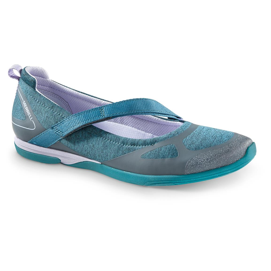 Women's Merrell Ceylon Mary Jane Shoes, Teal / Lilac