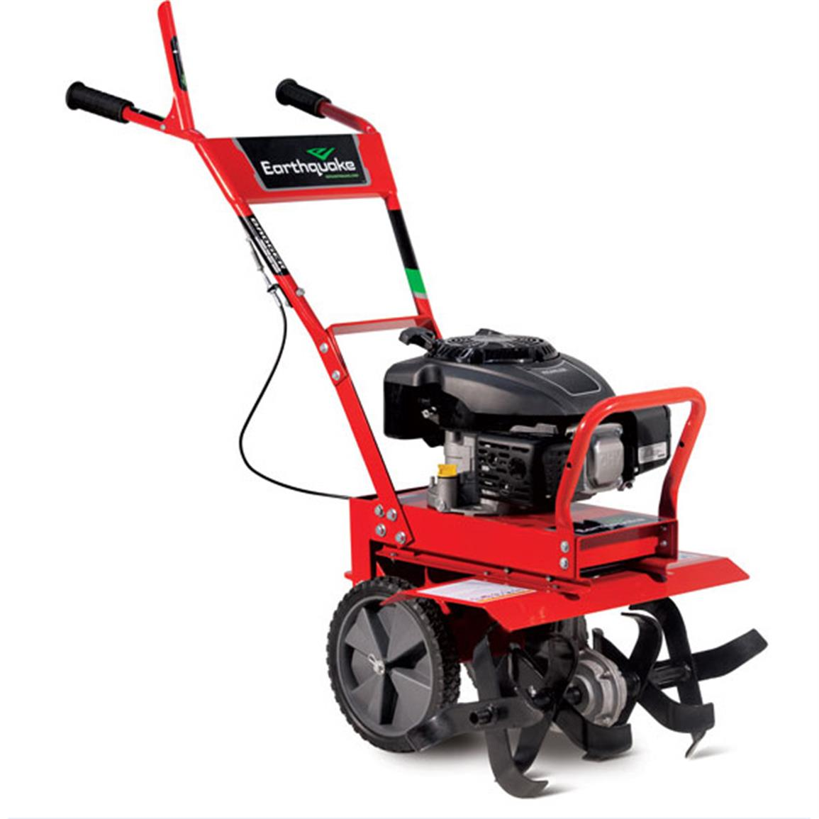 Earthquake Badger Full Size Front Tine Rototiller 662981 Earth Augers Tillers Cultivators
