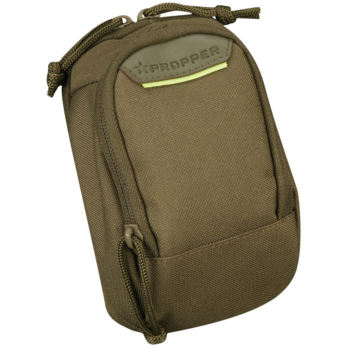 Propper 2-pocket Media Pouch with MOLLE, Olive Drab