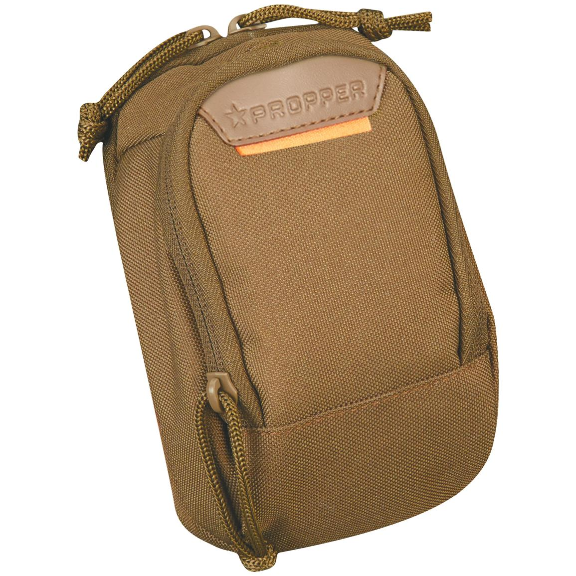 Propper 2-pocket Media Pouch with MOLLE, Coyote