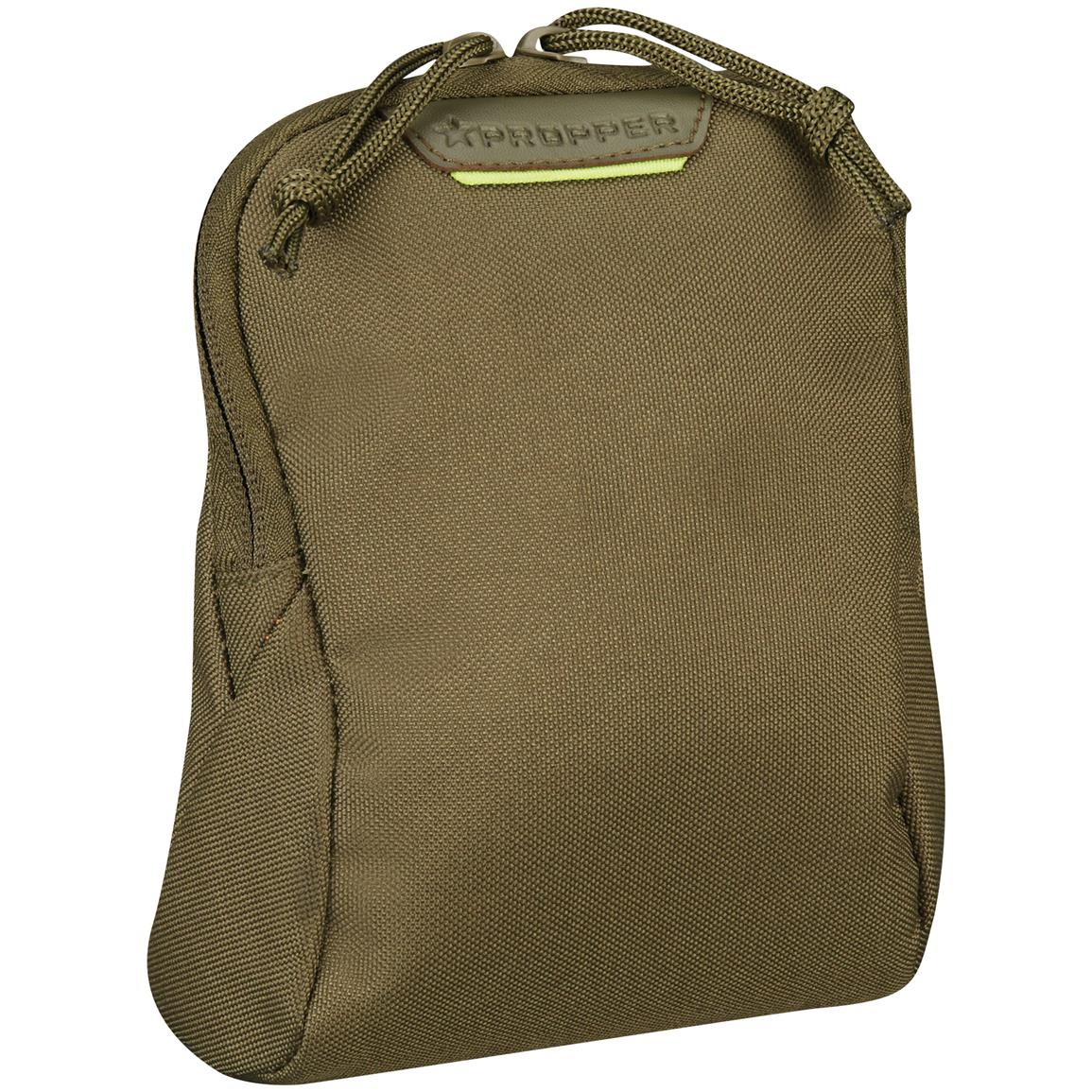 "Propper 7"" x 6"" Media Pouch with MOLLE, Olive Drab"