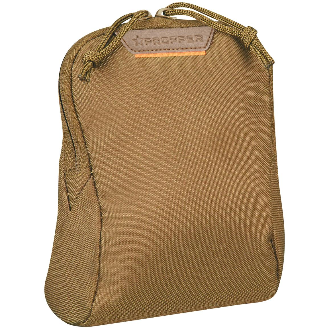 "Propper 7"" x 6"" Media Pouch with MOLLE, Coyote"