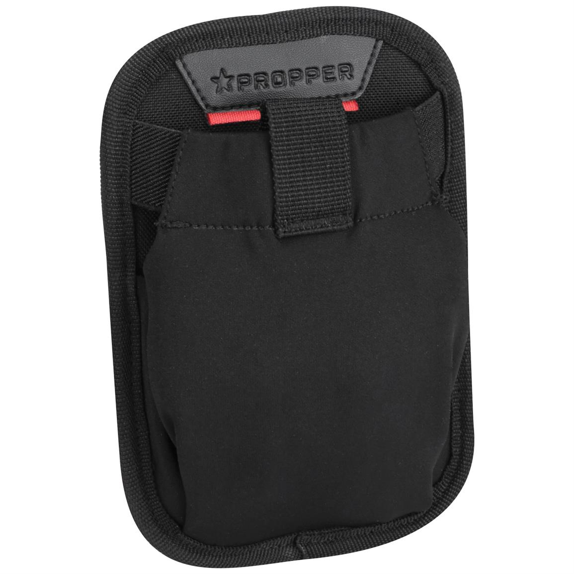 "Propper 7"" x 5"" Stretch Dump Pocket with MOLLE, Black"