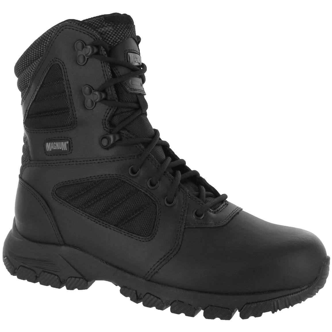 Magnum Response III 8.0 Men's Steel Toe EMS Tactical Boots, Black