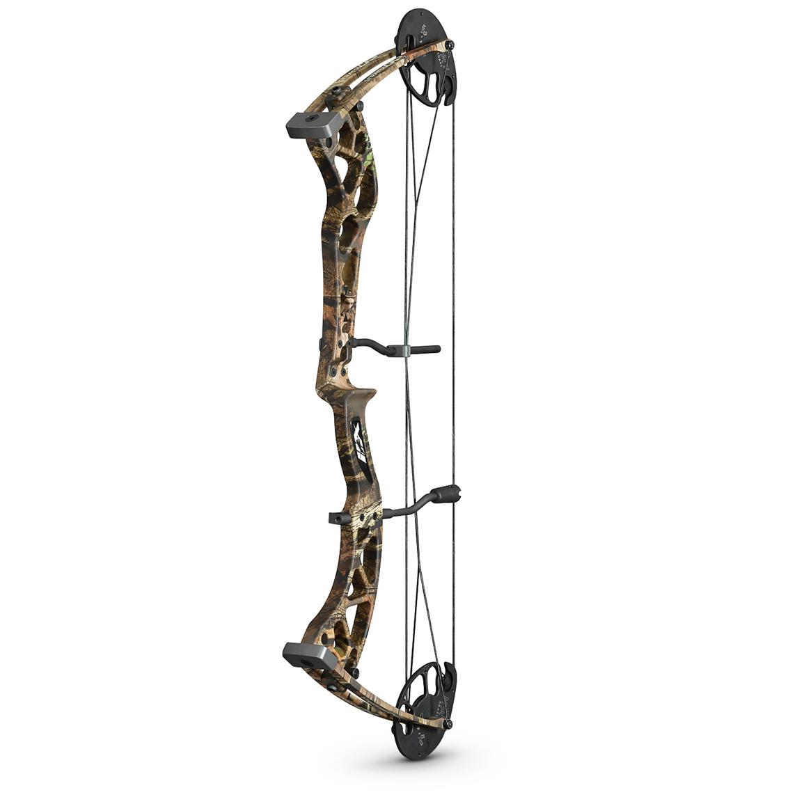 Martin Archery Carbon Stratos CR Compound Bow, 70-lb., Mossy Oak Break-Up Infinity