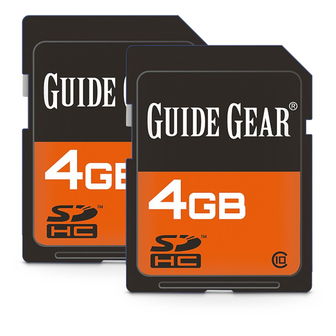 Guide Gear 4GB SD Memory Cards, 2 Pack