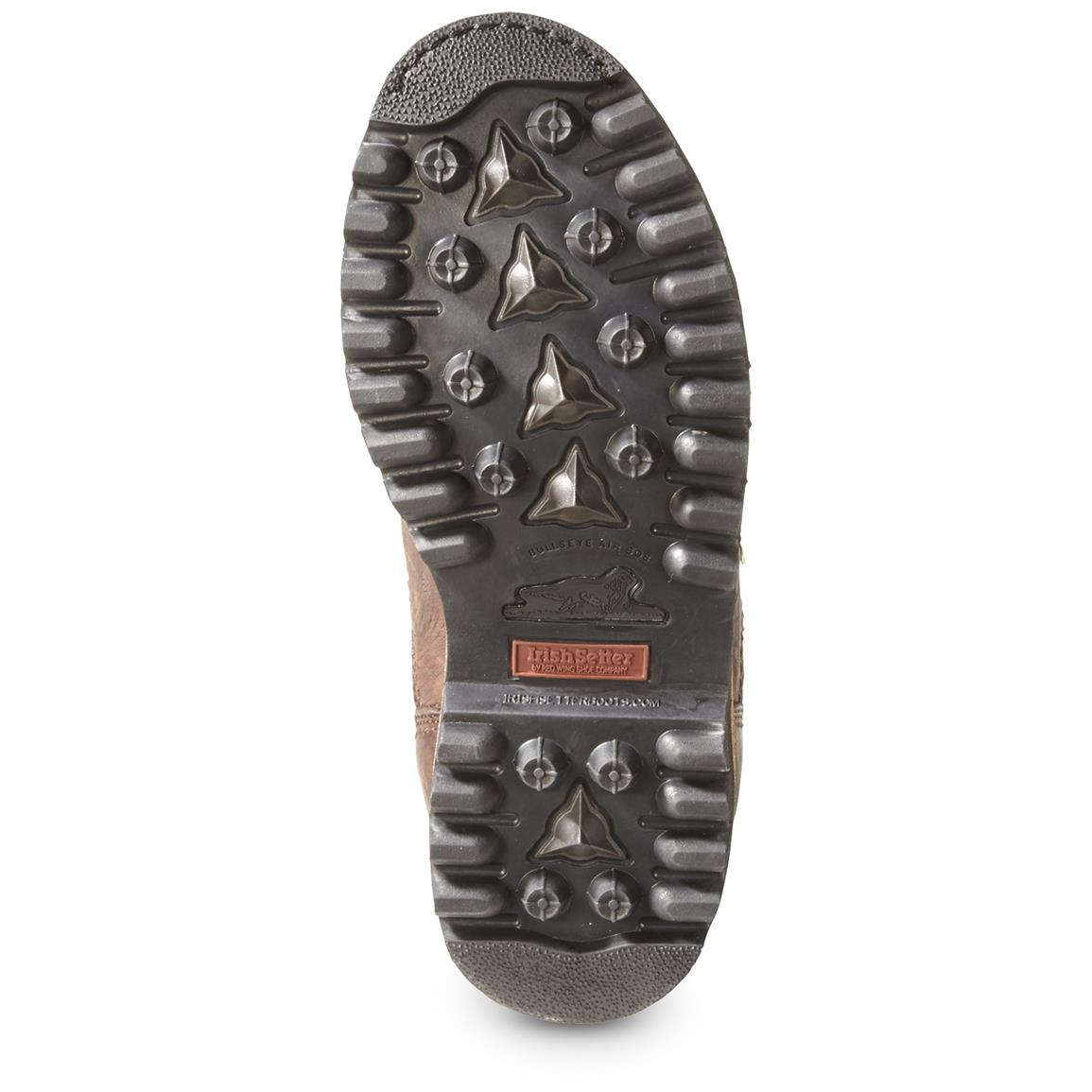 Aggressive lug outsole for steep inclines and sloppy trails