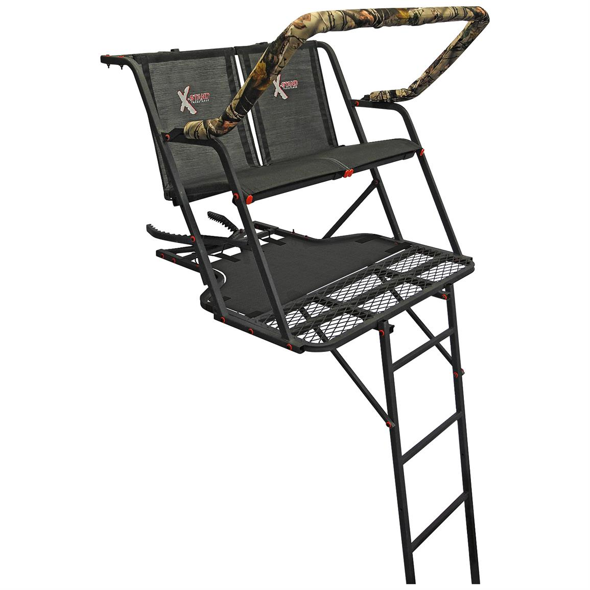 X-Stand Outback 16 foot Ladder Tree Stand, 2-Person