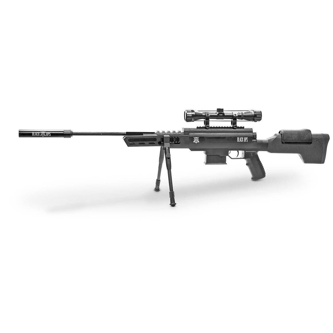 Black Ops Tactical Sniper Air Rifle, .177 Caliber