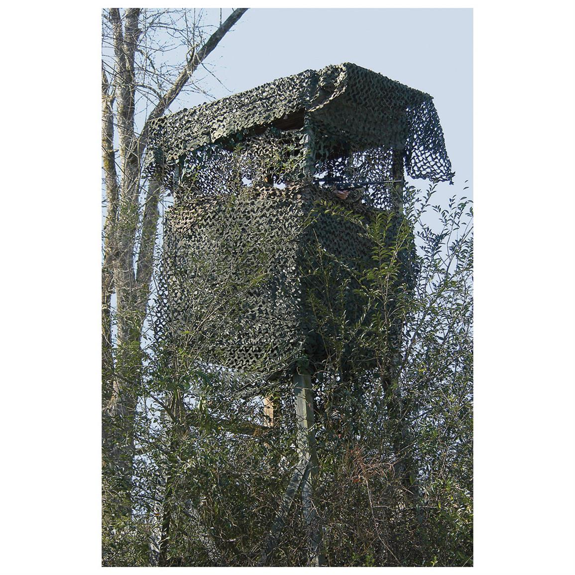Blinded Hunting Crow S Nest Tree Stand Blind 232301