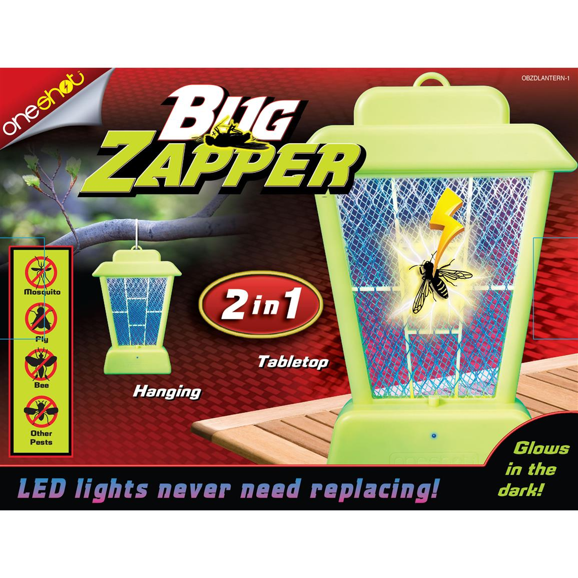 Kills insects on contact with no harmful chemicals