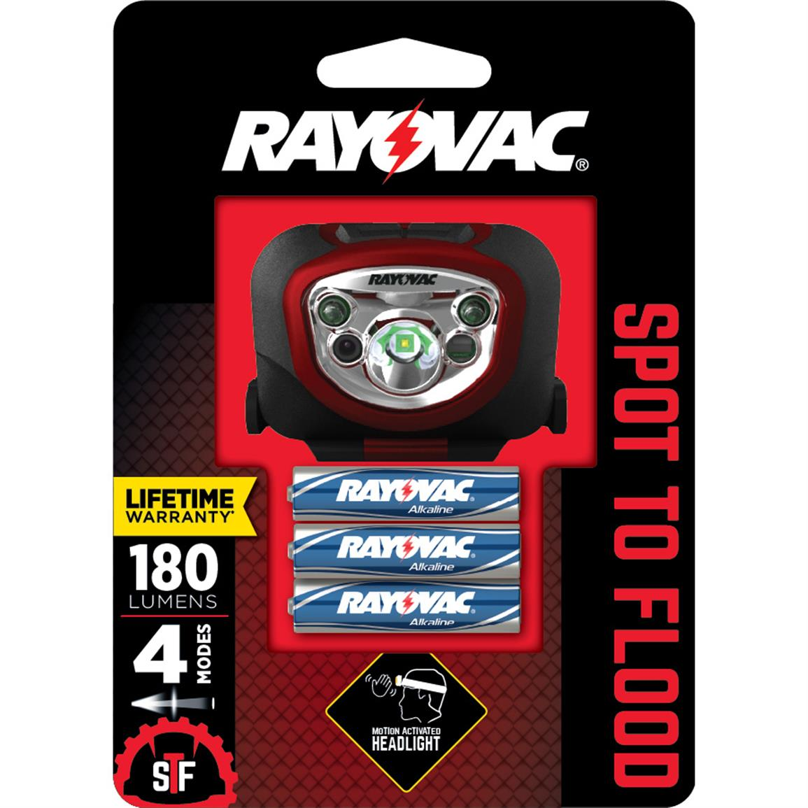 Rayovac Spot to Flood LED Headlight
