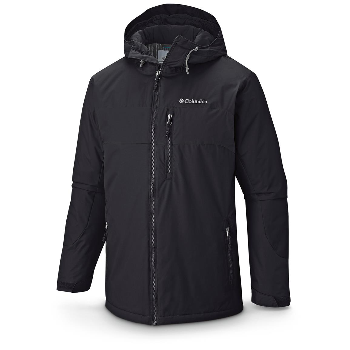Columbia Men's Winterswept Insulated Waterproof Jacket, Black