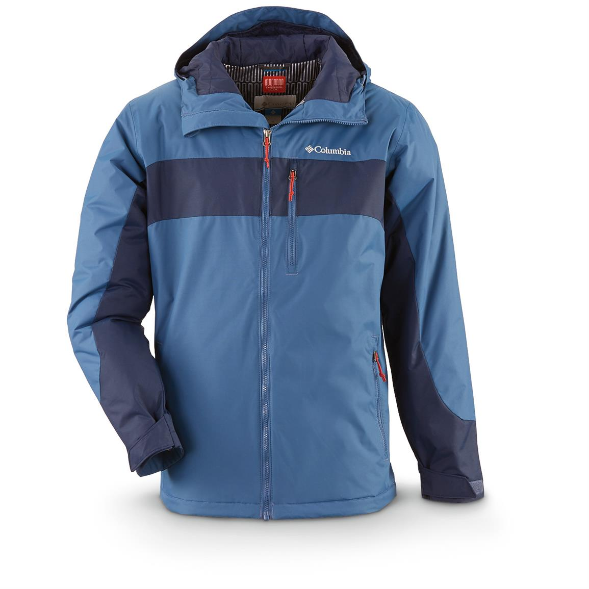 Columbia Men's Winterswept Insulated Waterproof Jacket, Night Tide / Coll Nvy