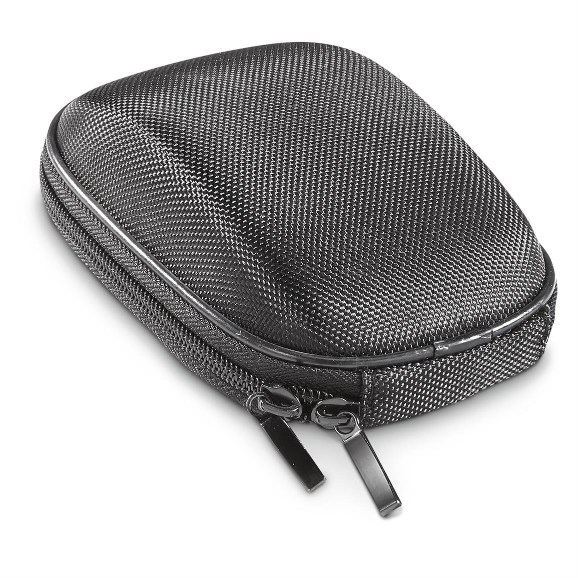 Includes case, lanyard and lens cloth
