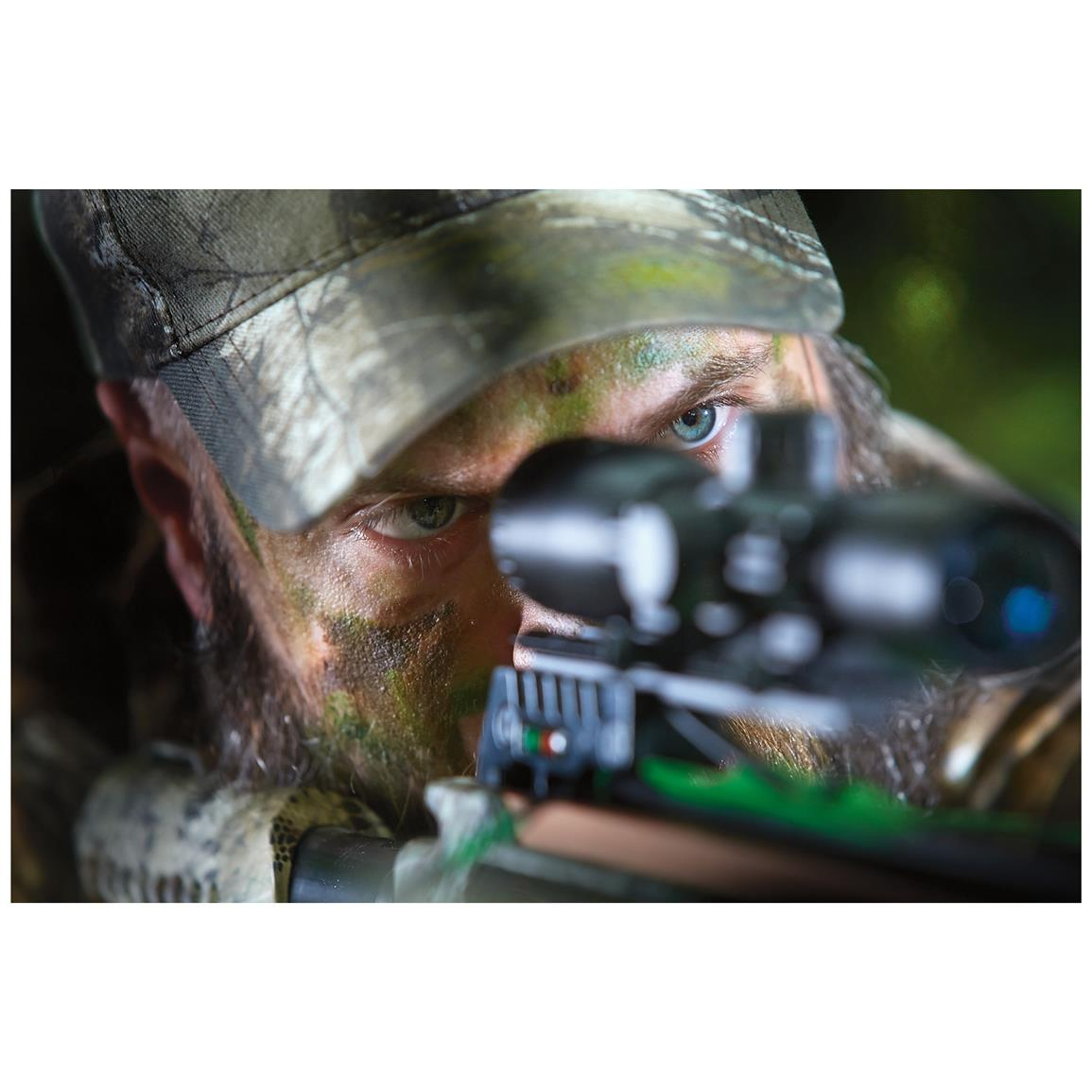Includes Illuminated 4x32 multi-range scope