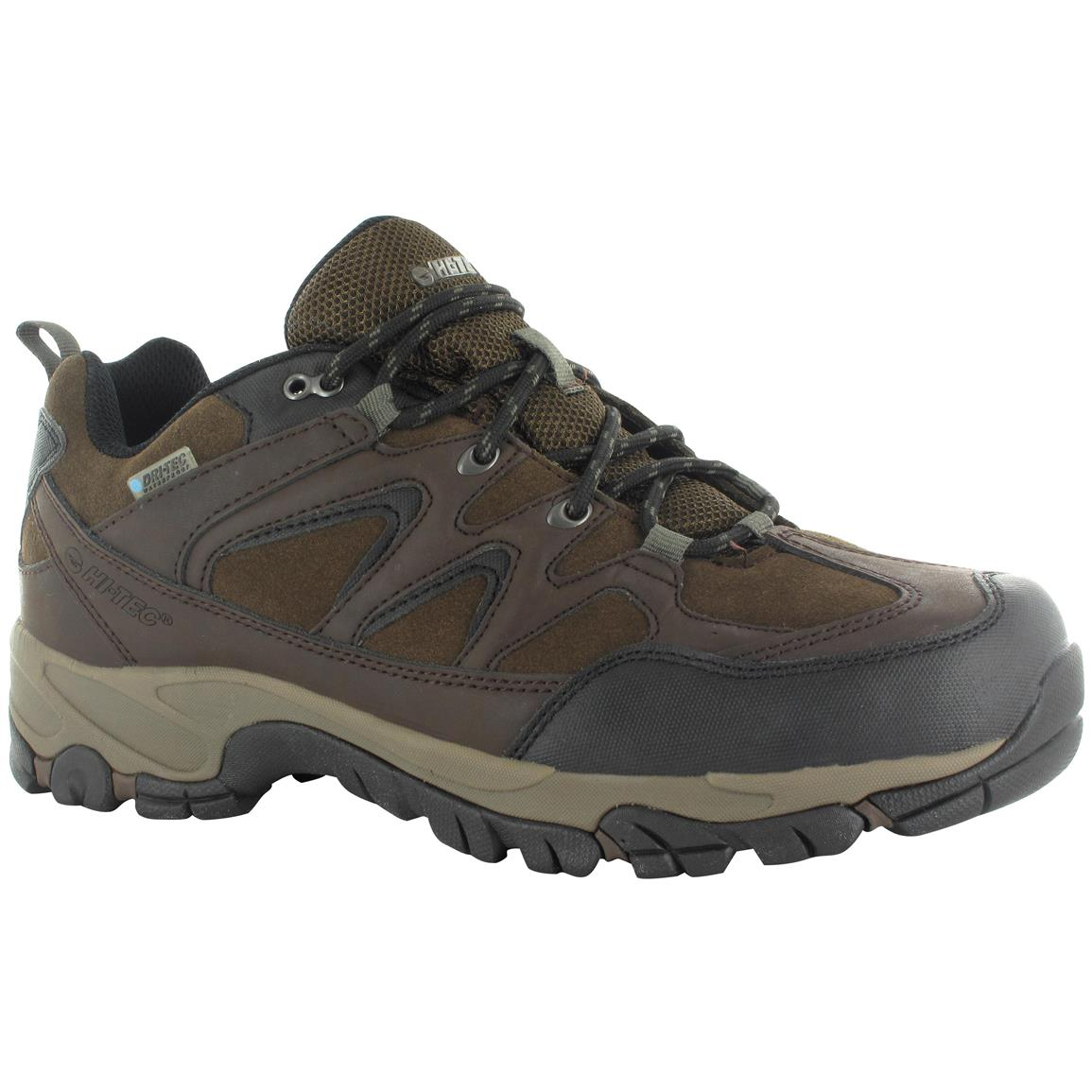 Hi-Tec Altitude Trek Men's Low Hiking Boots, Waterproof, Dark Chocolate