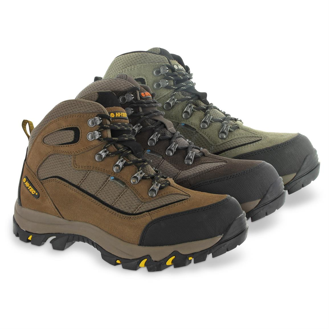 Hi-Tec Skamania Men's Mid Hiking Boots, Waterproof