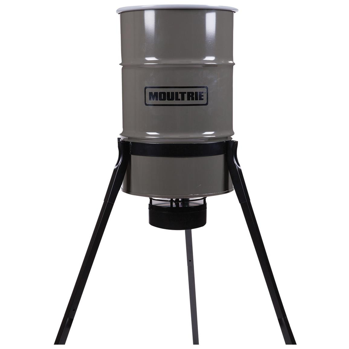 Moultrie 55-Gallon Pro Magnum Tripod Feeder