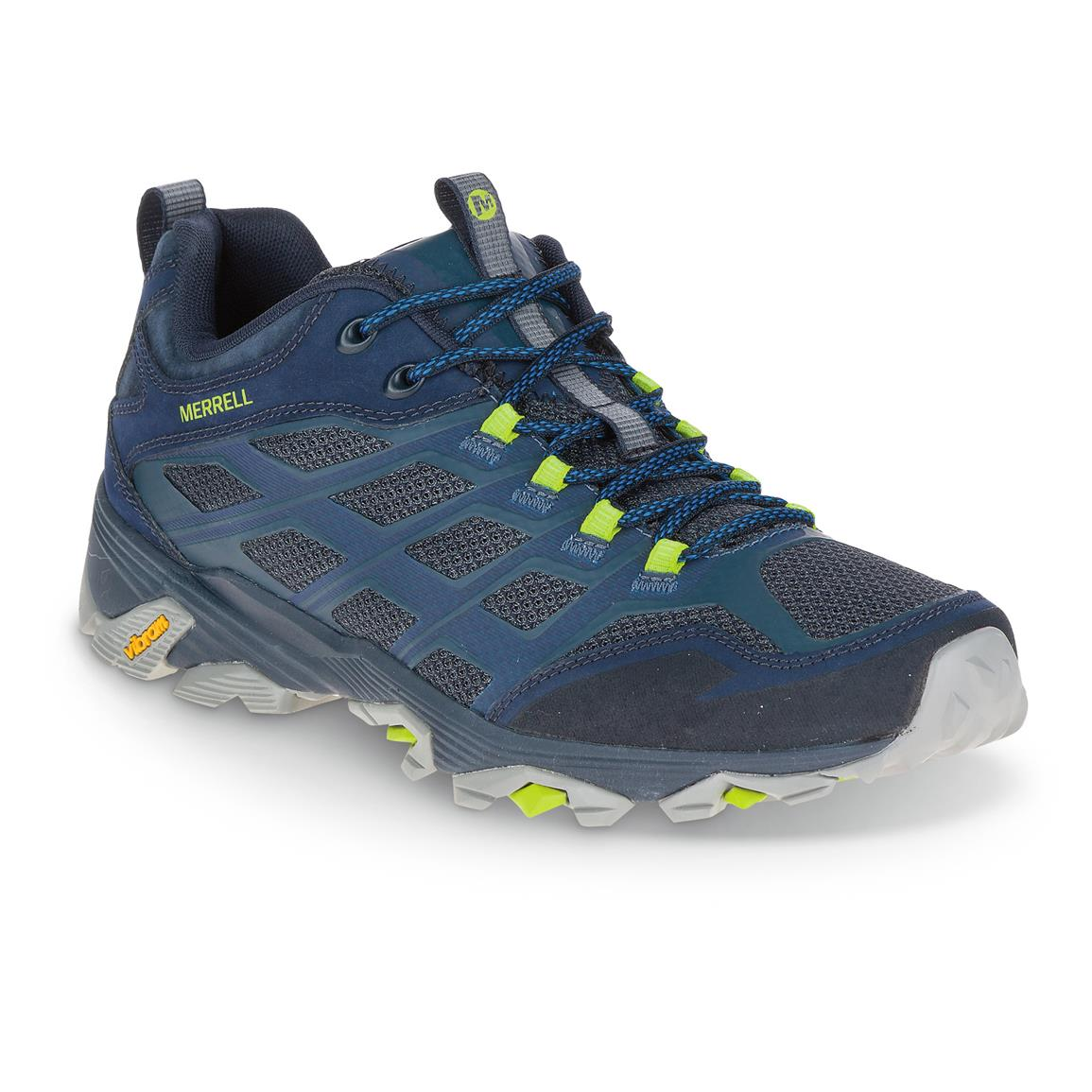 Merrell Men's Moab FST Hiking Shoes, Navy