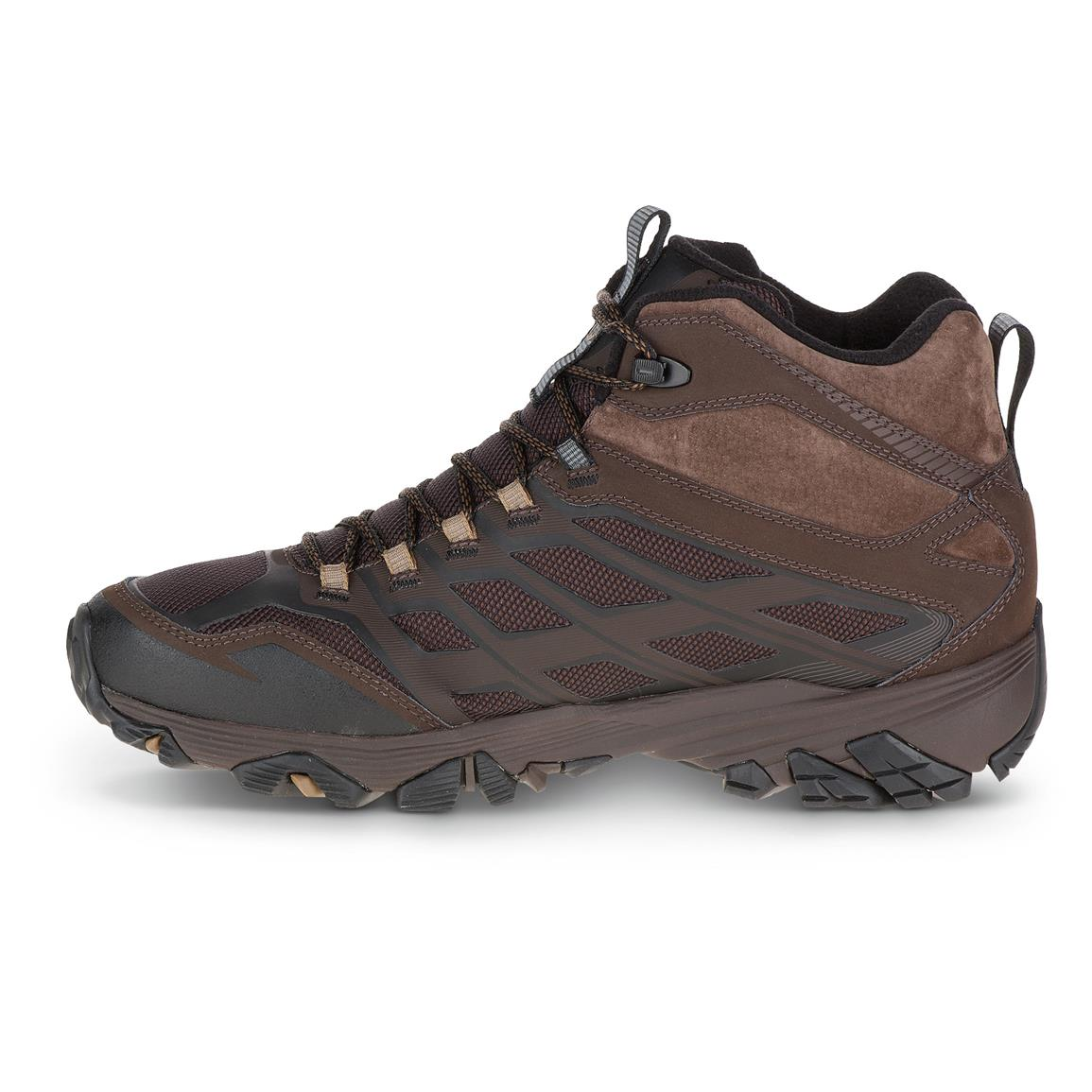 Merrell M Select WARM lightweight, low-bulk 100-gram insulation keeps you comfortable