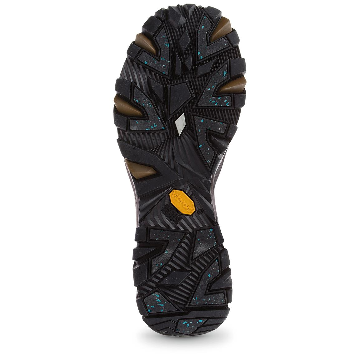 Vibram Arctic Grip outsole offers amazing traction on ice and slippers surfaces