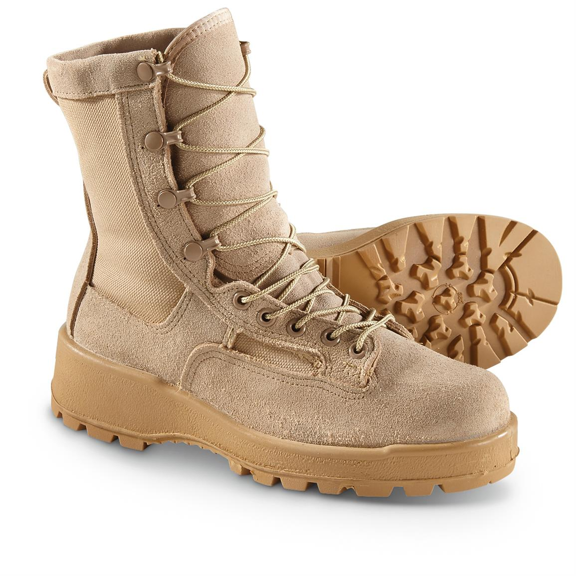 Men's U.S. Military Issue GORE-TEX Combat Boots, Waterproof, Altama