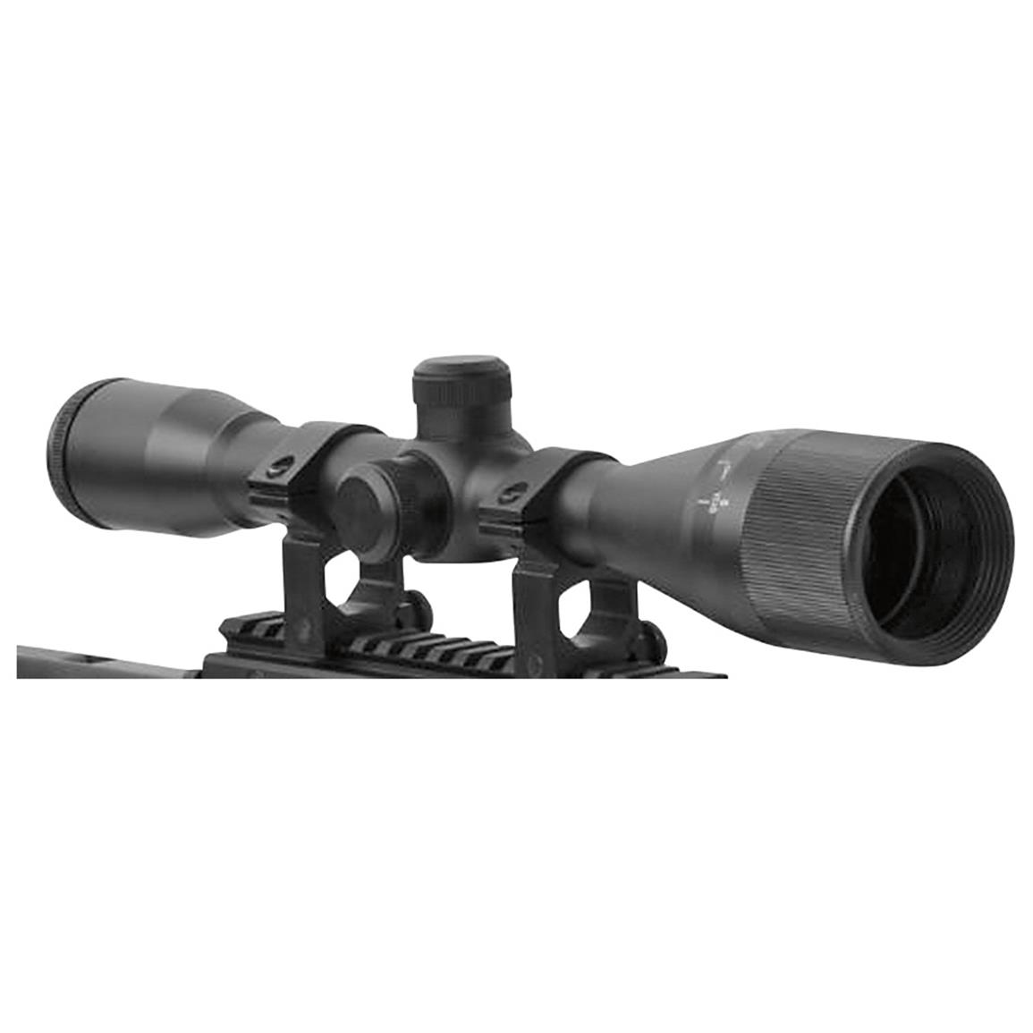 Includes 6x40mm Scope