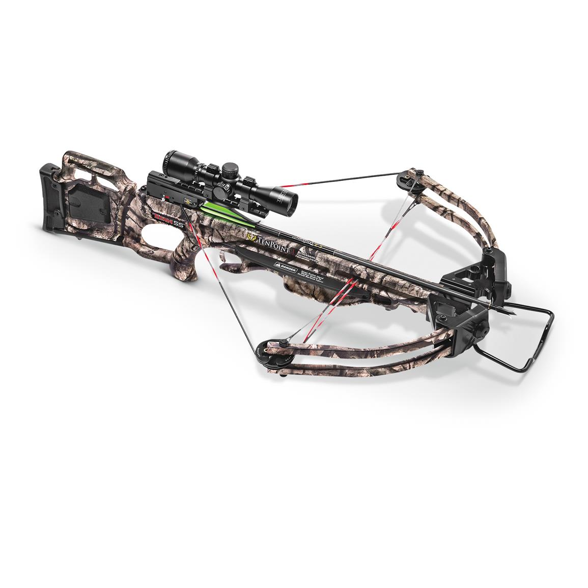 TenPoint Titan SS Crossbow with 3x Pro-View 2 Scope