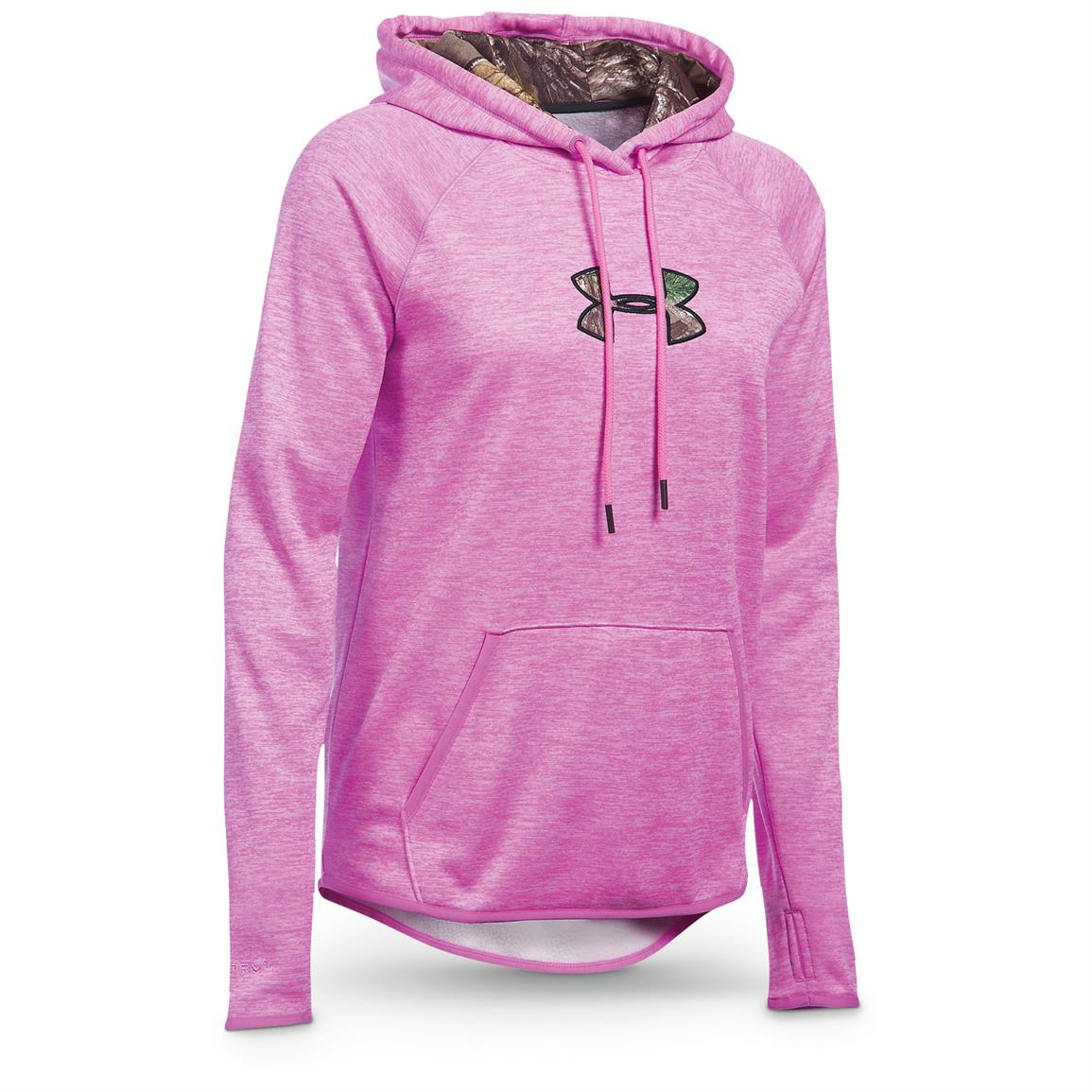 Under Armour Women's Icon Caliber Hoodie, Verve Violet